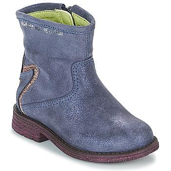 Boty Dívčí Kotníkové boty Agatha Ruiz de la Prada 181970 VAGABUNDA Modrá
