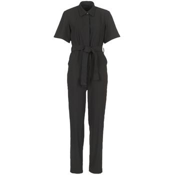 Textil Ženy Overaly / Kalhoty s laclem G-Star Raw BRISTUM DC JUMPSUIT Černá