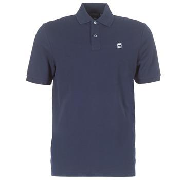 Textil Muži Polo s krátkými rukávy G-Star Raw DUNDA POLO Tmavě modrá