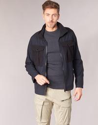 Textil Muži Bundy G-Star Raw TYPE C UTILITY PM OVERSHIRT Černá