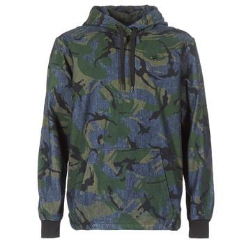 Textil Muži Bundy G-Star Raw STOR ANORAK OVERSHIRT Modrá / Zelená