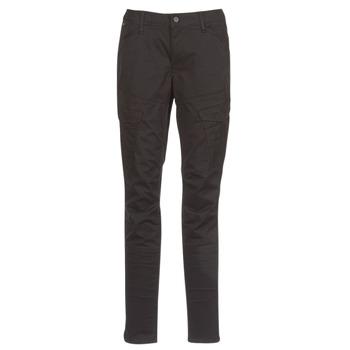 Textil Ženy Cargo trousers  G-Star Raw ROVIC MID SKINNY Černá