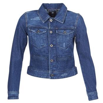 Textil Ženy Riflové bundy G-Star Raw D-STAQ DC DNM Modrá / Sato / Džínová modř