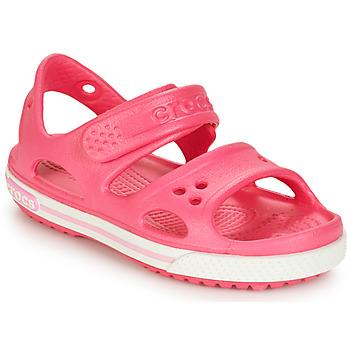 Boty Dívčí Sandály Crocs CROCBAND II SANDAL PS Růžová