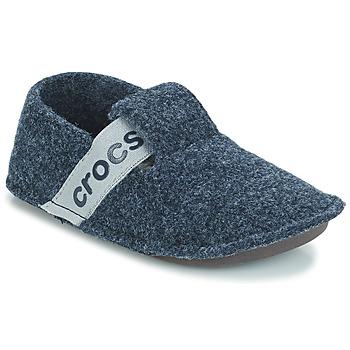 Boty Děti Papuče Crocs CLASSIC SLIPPER K Tmavě modrá