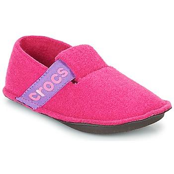Boty Dívčí Papuče Crocs CLASSIC SLIPPER K Růžová