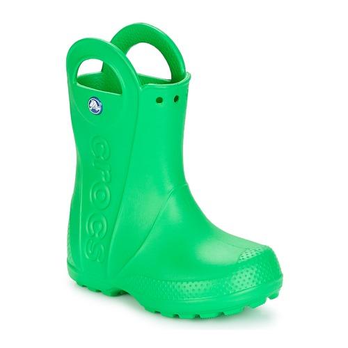 Crocs HANDLE IT RAIN BOOT KIDS Zelená - Doručení zdarma se Spartoo ... 788acb7187