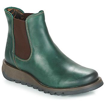 Boty Ženy Kotníkové boty Fly London SALV Zelená