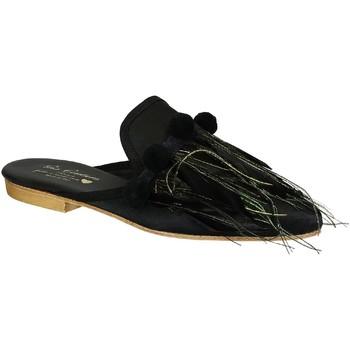 Boty Ženy Pantofle Gia Couture VENUS SATIN B nero