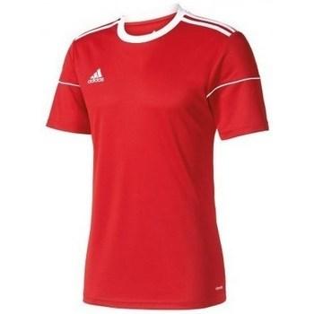 Textil Muži Trička s krátkým rukávem adidas Originals Squadra 17 Červená