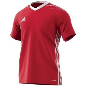 adidas Trička s krátkým rukávem Tiro 17 - Červená