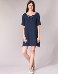 Textil Ženy Krátké šaty Betty London HOUNI Tmavě modrá