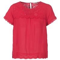 Textil Ženy Halenky / Blůzy Betty London JALILI Červená