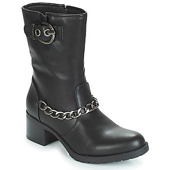 Boty Ženy Polokozačky LPB Shoes LOANNE Černá