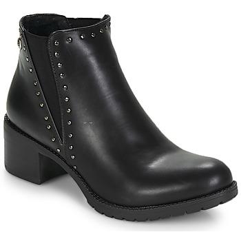Boty Ženy Polokozačky LPB Shoes LAURA Černá