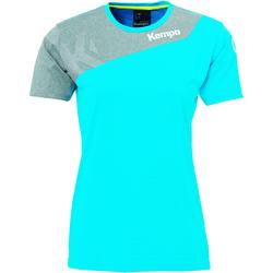 Textil Ženy Trička s krátkým rukávem Kempa Maillot femme  Core 2.0 bleu flash/gris