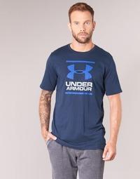 Textil Muži Trička s krátkým rukávem Under Armour UA GL FOUNDATION SS T Tmavě modrá