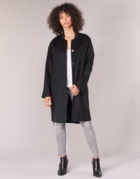 Textil Ženy Kabáty Benetton MARBELLO Černá
