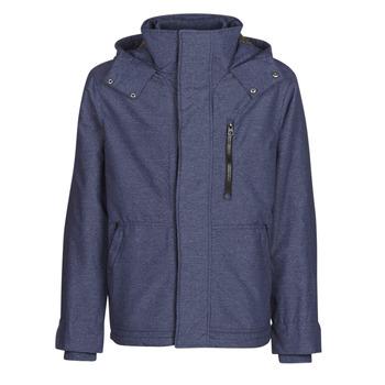 Textil Muži Bundy Benetton MARDAN Tmavě modrá