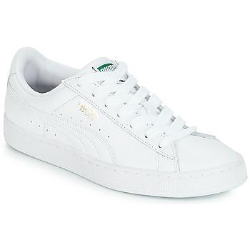 Boty Nízké tenisky Puma BASKET CLASSIC LFS.WHT Bílá