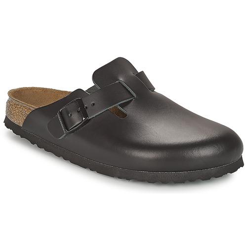 Boty Muži Pantofle Birkenstock BOSTON Černá