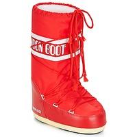 Boty Ženy Zimní boty Moon Boot NYLON Červená