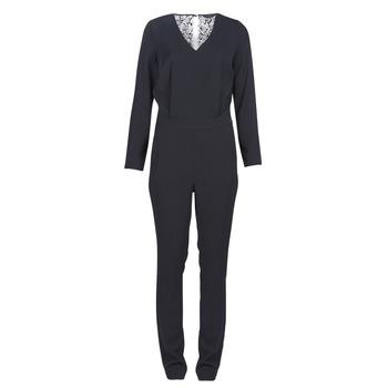 Textil Ženy Overaly / Kalhoty s laclem Kaporal GWADA Černá