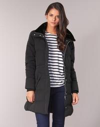 Textil Ženy Kabáty Naf Naf BULODI Černá