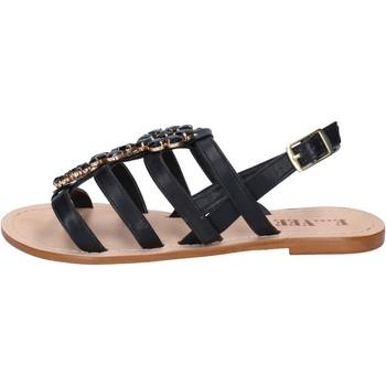 Boty Ženy Sandály E...vee sandali nero pelle BY184 Nero