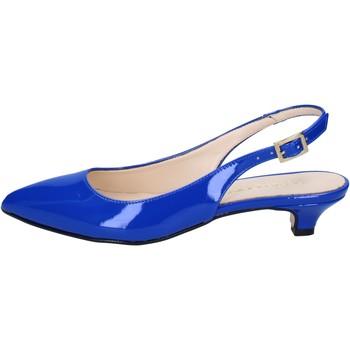 Boty Ženy Sandály Olga Rubini sandali blu vernice BY278 Blu