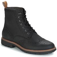 Boty Muži Kotníkové boty Clarks BATCOMBE LORD Černá