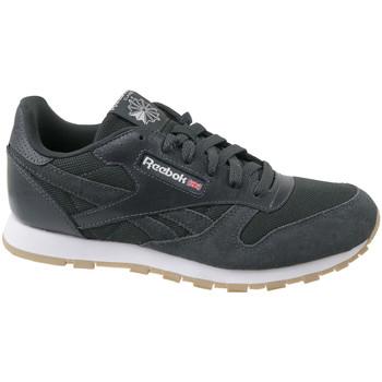 Boty Děti Nízké tenisky Reebok Sport Cl Leather Mcc gris