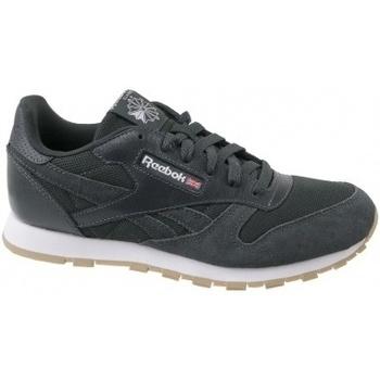 Boty Děti Nízké tenisky Reebok Sport Cl Leather ESTL šedá