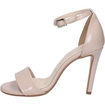 Boty Ženy Sandály Olga Rubini sandali beige vernice BY289 Beige