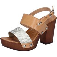 Boty Ženy Sandály Made In Italia Sandály BY516 Hnědá