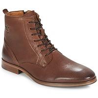 Boty Muži Kotníkové boty Kost NICHE 1 Zlatohnědá