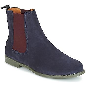 Boty Ženy Kotníkové boty Sebago CHELSEA DONNA SUEDE Tmavě modrá