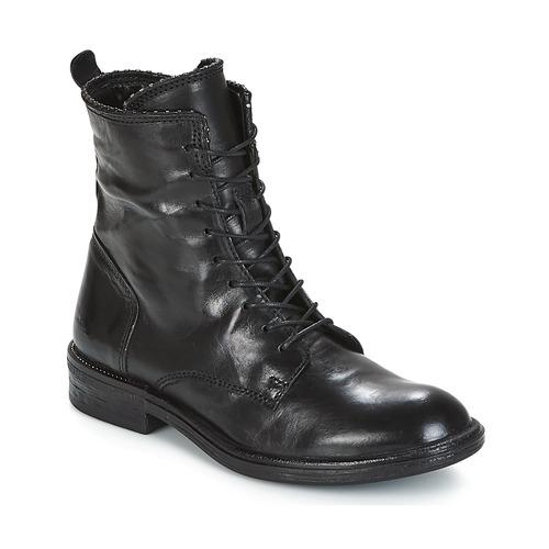 Boty Ženy Kotníkové boty Mjus PAL LACE Černá