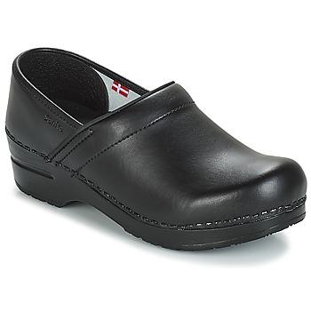Boty Muži Pantofle Sanita PROF Černá