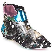 Boty Ženy Kotníkové boty Irregular Choice Electric boots Černá / Stříbrná