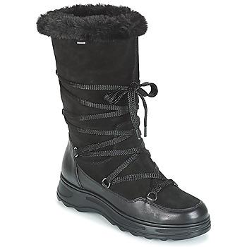 Boty Ženy Zimní boty Geox D HOSMOS B ABX Černá