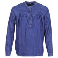 Textil Ženy Halenky / Blůzy Pepe jeans ALICIA Modrá