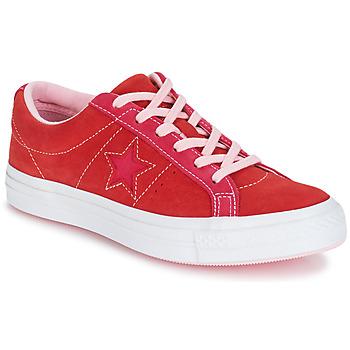 Boty Ženy Nízké tenisky Converse ONE STAR OX Červená / Růžová