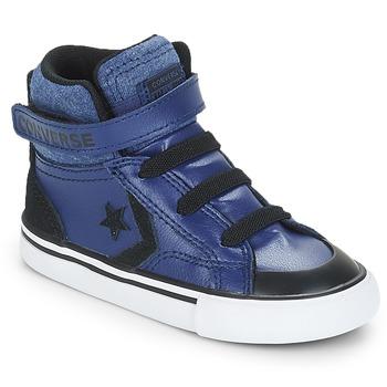 Boty Chlapecké Kotníkové tenisky Converse PRO BLAZE STRAP HI Modrá