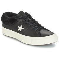 Boty Ženy Nízké tenisky Converse ONE STAR LEATHER OX Černá