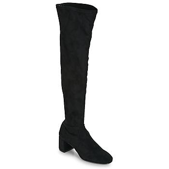 Boty Ženy Vysoké kozačky nad kolena Betty London JOUBITU Černá
