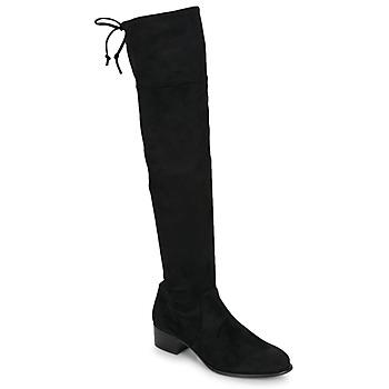 Boty Ženy Vysoké kozačky nad kolena Betty London JAZUMI Černá