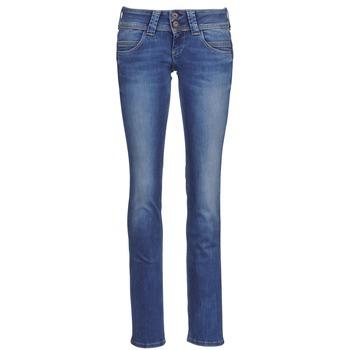 Pepe jeans Rifle rovné VENUS - Modrá