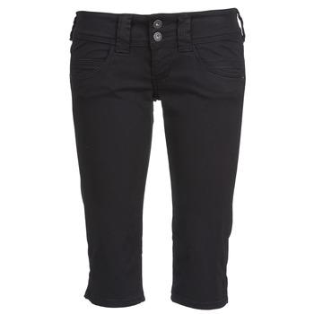Textil Ženy Tříčtvrteční kalhoty Pepe jeans VENUS CROP Černá