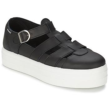 Boty Ženy Sandály Victoria SANDALIA PIEL Černá